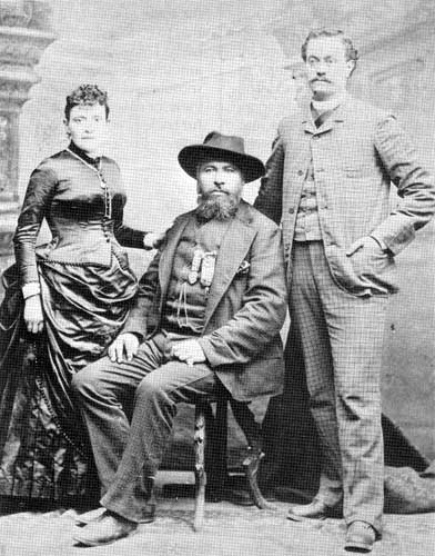 Louis Riel and Gabriel Dumont