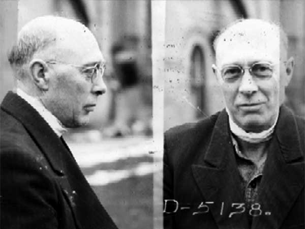 Baldwin Jonasson at the time of his preliminary hearing, his throat still bandaged.