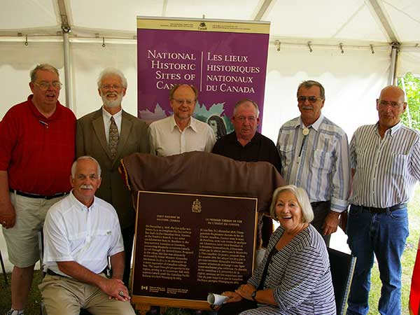 First railway commemorated