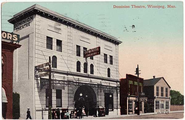 Manitoba History: Movie Exhibition in Manitoba: The Case of