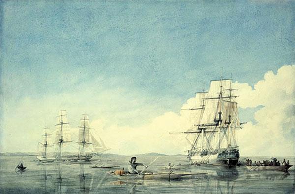 Manitoba History: Ocean Crossings: Hudson's Bay Company