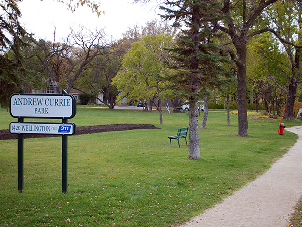 Andrew Currie Park