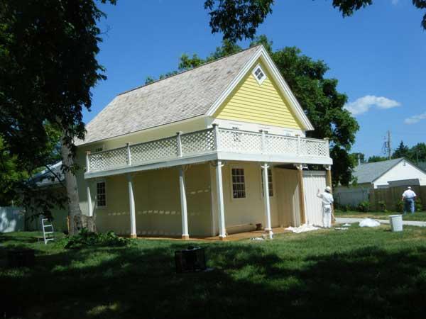 Barber House : Barber House after restoration (Spring 2011)