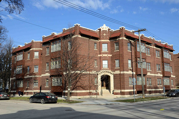 Historic Sites of Manitoba: Brussels Apartments (150-156 ...