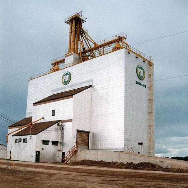 Historic Sites Of Manitoba Manitoba Pool Grain Elevator Burnside Rm Of Portage La Prairie