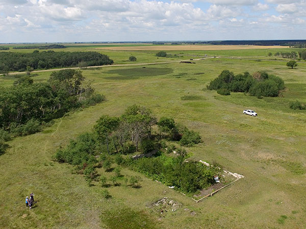 Historic Sites Of Manitoba Camp Hughes Municipality Of