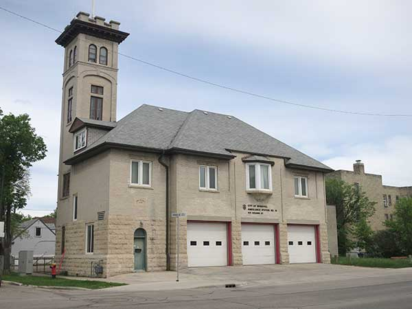 The former Fire Hall No. 15