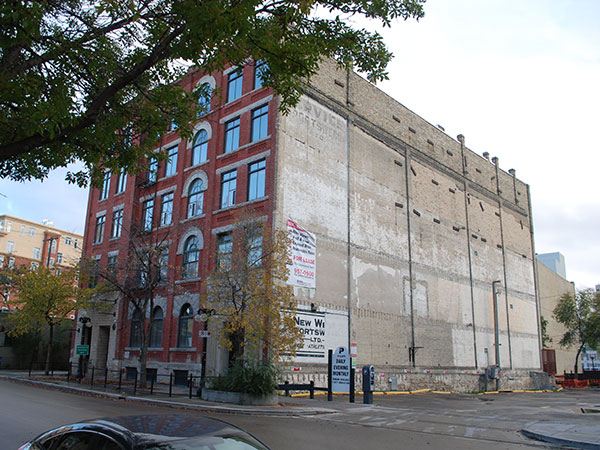 Historic Sites of Manitoba: Great West Saddlery Warehouse