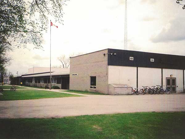 The fourth Gretna School, built in 1957
