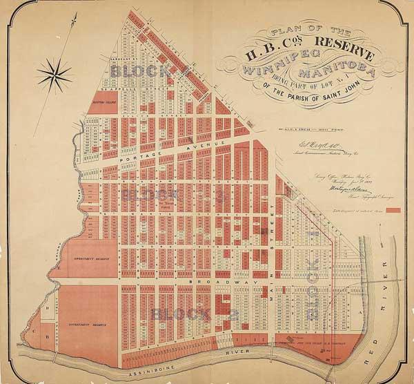 Historic Sites of Manitoba: Hudson's Bay Company Reserve