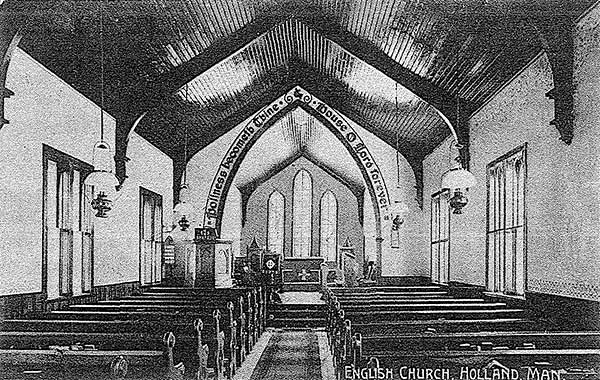 Interior of Emmanuel Anglican Church