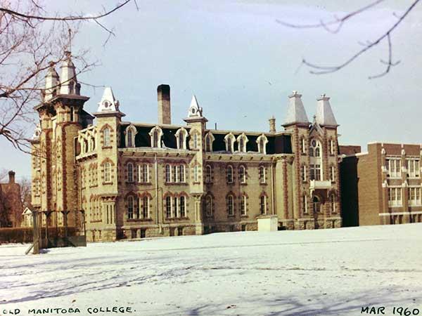 Historic Sites of Manitoba : Manitoba College \/ St. Paul
