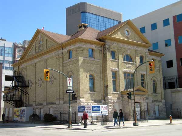 Historic Sites of Manitoba: Masonic Temple / Mother Tucker's