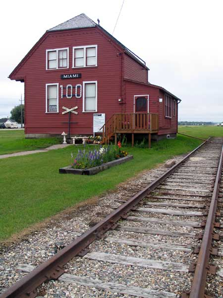 Historic Sites of Manitoba Miami Northern Pacific and Manitoba