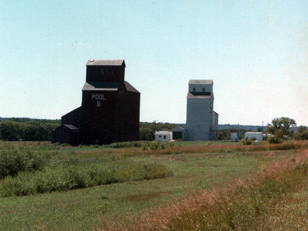 Historic Sites Of Manitoba Manitoba Pool Grain Elevator A - Us grain elevator map