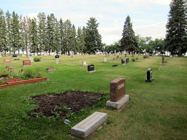 Historic Sites Of Manitoba Oak River Cemetery Rm Of Oakview