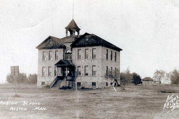 Historic Sites Of Manitoba Reston School No 141 Reston Rm Of
