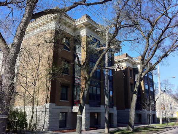 Historic Sites Of Manitoba: Rothesay Apartments (828 Preston Avenue,  Winnipeg)