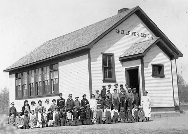 Historic Sites of Manitoba: Shell River School No  1971 (RM