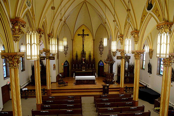 Historic Sites Of Manitoba St Augustine Of Canterbury