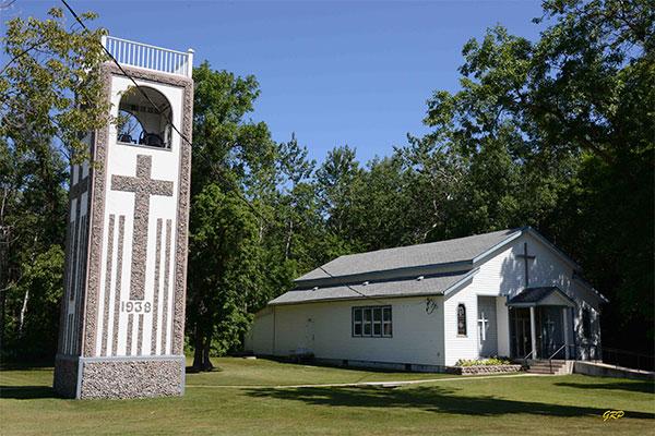 Historic Sites of Manitoba: St  Benedict's Roman Catholic