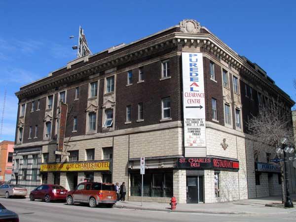 St James Hotel Winnipeg Mb