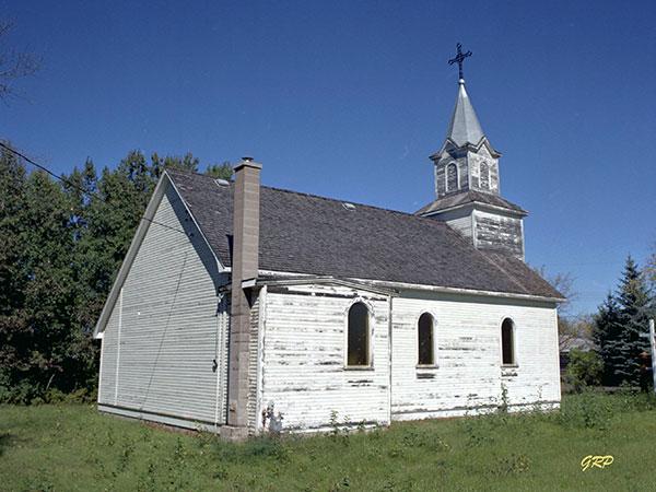 Historic Sites Of Manitoba St John The Baptist Roman