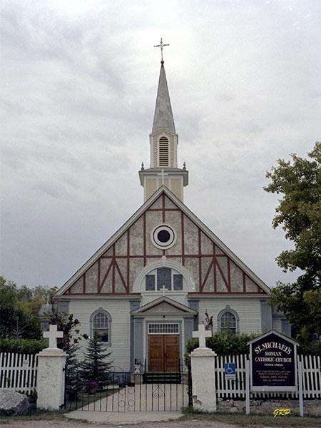 Historic Sites of Manitoba: St  Michael's Roman Catholic