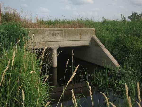 Historic Sites of Manitoba: Concrete Culvert Bridge (RM of Portage