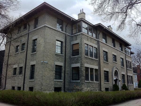 Historic Sites of Manitoba: Wardlaw Apartments (544 ...