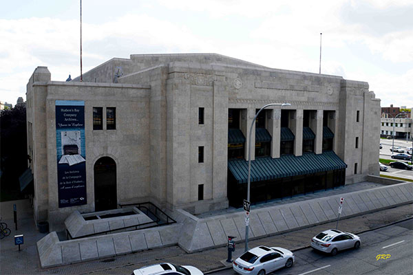 The former Winnipeg Civic Auditorium